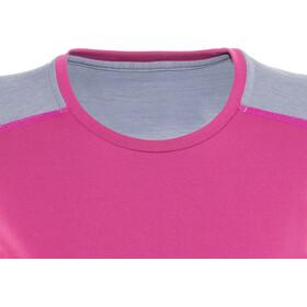 Norrøna Falketind Super Wool Shirt Women Grafitti Pink